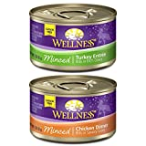 Wellness Natural Canned Grain Free Wet Cat Food, Poultry Pleasers Cuts Variety Pack, 3-Ounce Can (Pack Of 30) Review