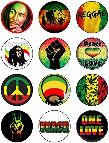 Astonishing 12 X 2 1 Inch Reggae Rasta Bob Marley Edible Icing Birthday Cake Personalised Birthday Cards Veneteletsinfo