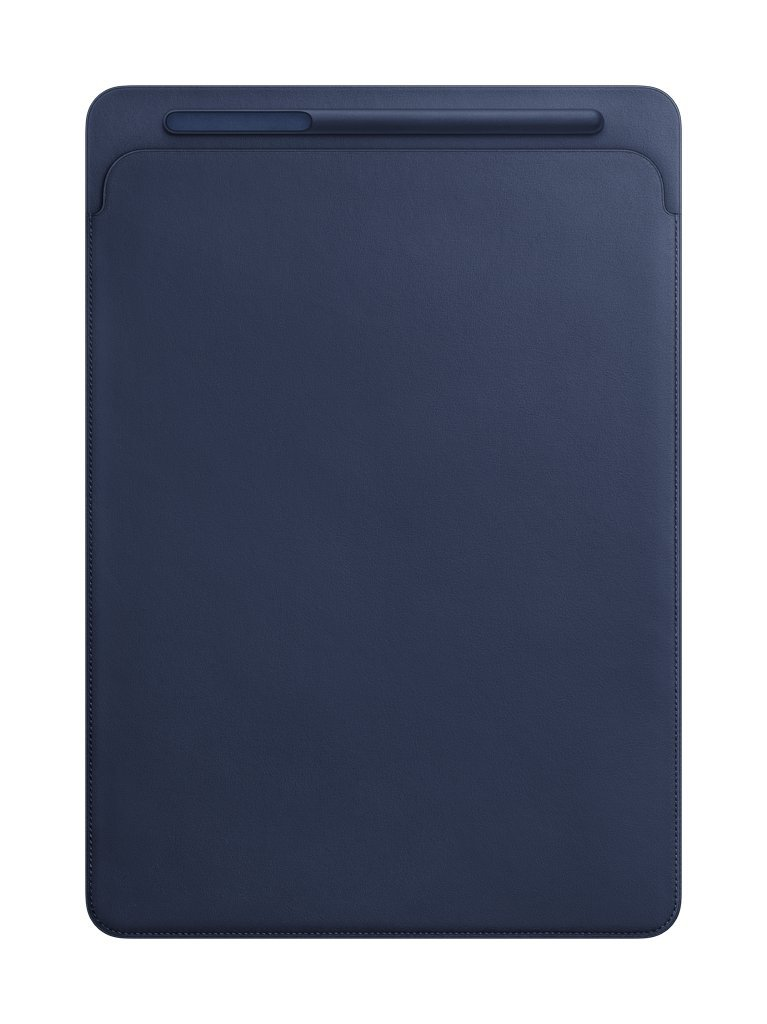 Apple Leather Sleeve for 12.9'' iPad Pro - Midnight Blue by Apple