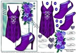 Magia de la tarjeta de adorno para vestido de 2 por Mary Jane Harris