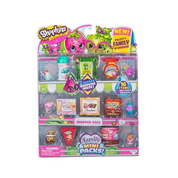 16 Items! Mini Pack SHOPPER PACK Toy Figures SHOPKINS Season 10