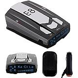 $27 » Radar Detector E8, Car Speed Laser Radar Detector with LED Display Voice Alert and Alarm System Radar Detector Kit with 360 Degree Detection