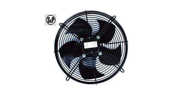 DOJA Industrial | Ventilador S&P HRB/4-400 BPN aspirante ...