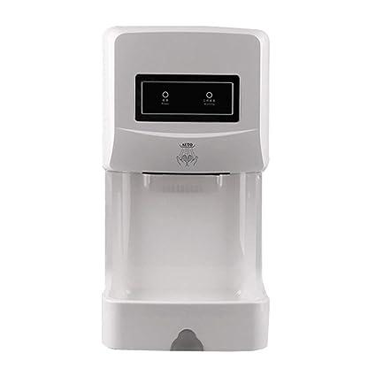 GCHOME Secadores de Mano Secador de Manos, Sensor de Alta Velocidad, baño, Inodoro