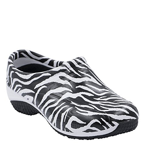 - Anywear ''EXACT' Slip Resistant Injected Closed Back Clog' Forever Wild 9