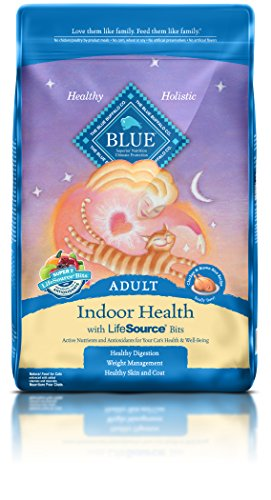 BLUE Adult Indoor Health Chicken & Brown Rice - Indoor Dry Cat Food