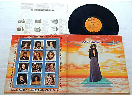 Maria Muldaur (Self Titled) - Reprise Records 1973 - USED Vinyl LP Record - 1973 Pressing - Midnight At The Oasis - Long Hard Climb - Three Dollar Bill - Any Old Time