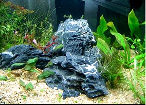 Graces dawn aquarium fish tank seiryu stone random shape for Landscaping rocks for aquarium