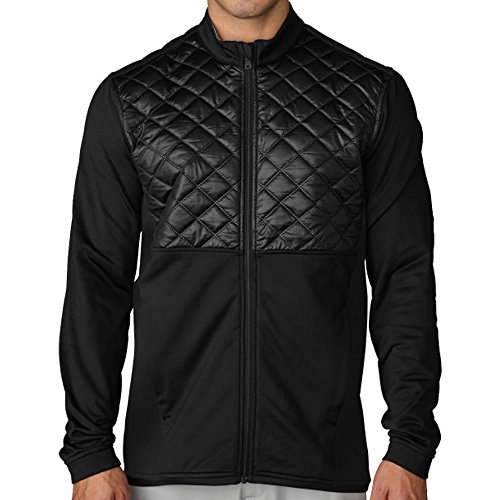 Adidas ClimaHeat Prime Quilted Full Zip Golf Jacket 2016 Black XX-Large