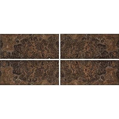Walnut Burl Sequenced Matched 4-Way Veneer Pack