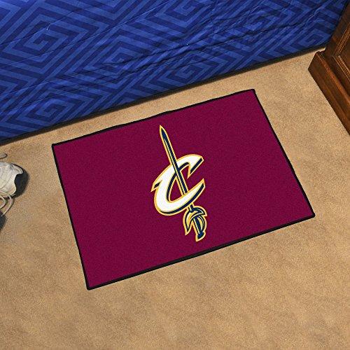FANMATS - 11903 - FanMats NBA - Cleveland Cavaliers Starter Rug 19 x ()