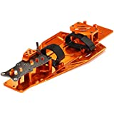 Integy RC Model Hop-ups T8655ORANGE Performance Conversion Chassis Kit for 1/10 Traxxas Rustler & Bandit VXL