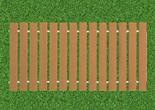 4 Ft. Wide Roll-up Garden Walkway EverGrain Decking - Cedar - 4 Ft. Length by Furniture Barn USA