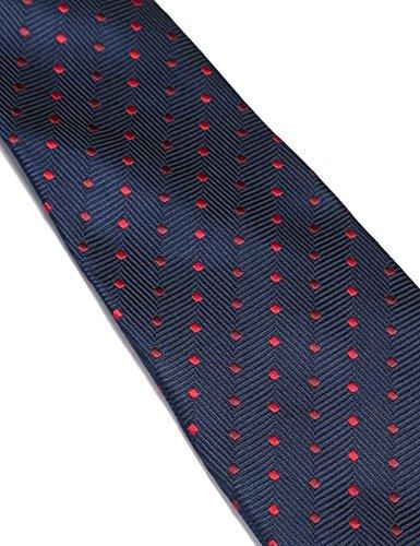 COOFANDY Men's Business Necktie Classic Silk Tie Woven Jacquard Neck Ties by COOFANDY (Image #2)