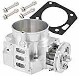 Silver 70mm Intake Manifold Throttle Body Plate Assembly For K-Series K20 K20A2 Engines