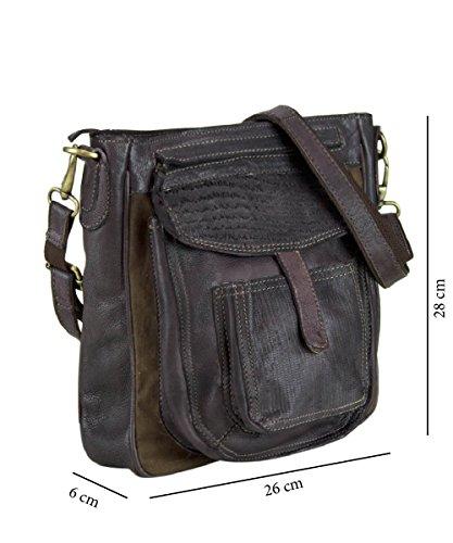 604261dbccafd Sunsa Damen Tasche Ledertasche Umhängetasche Crossbody Handtasche Shopper  Schultertasche ...