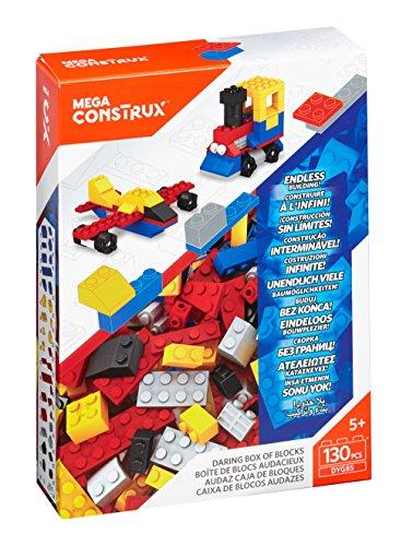 Mega Daring Box of Medium Blocks, Multi Color