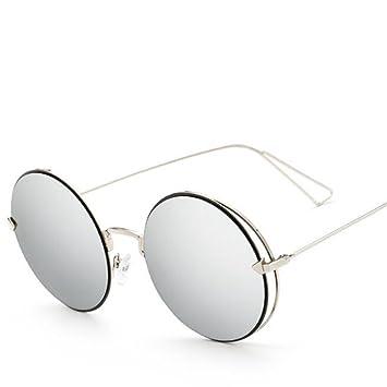 Wmshpeds Trend Sonnenbrille, runden Rahmen metall Sonnenbrille, in Europa und in den Vereinigten Staaten Sonnenbrille