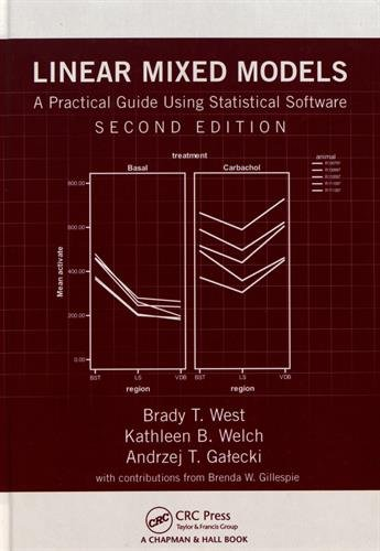 Linear Mixed Models: A Practical Guide Using Statistical Software, Second Edition (Linear Programming With R)