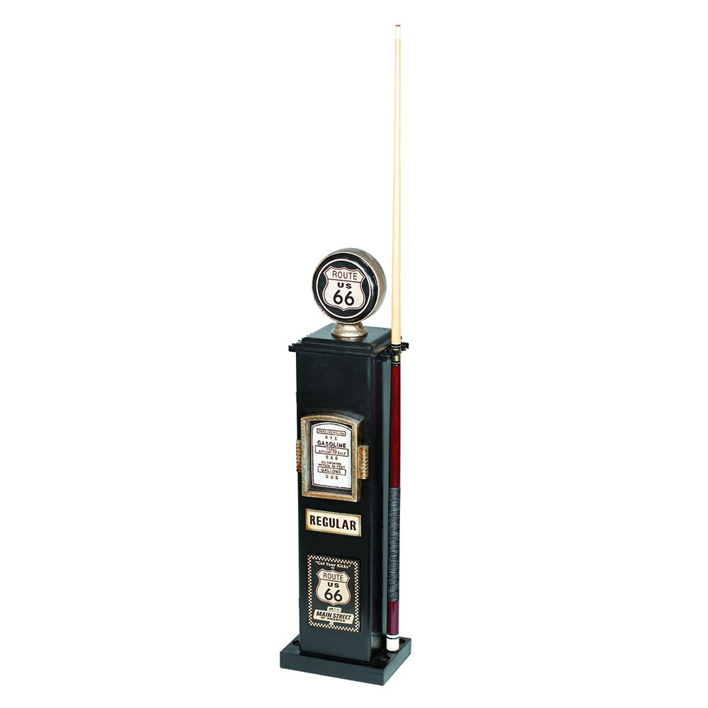 RAM Gameroom Products 40-Inch Route 66 Texaco Gas Pump CD and 6 Cue Holder