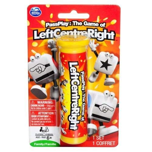 Left Center Right Dice Game - Styles Vary (Left Center Right Dice Game)