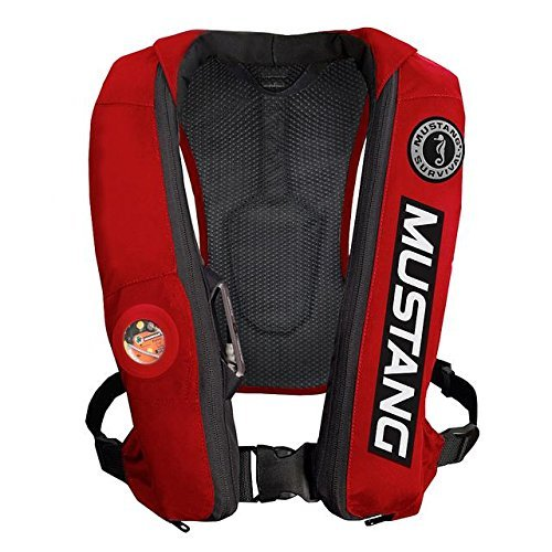 (Mustang Survival MD5183BC4 Elite Inflatable PFD - Red)