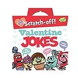Peaceable Kingdom Scratch-Off Valentine Jokes - 28 Card Pack