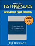 img - for Test Prep Guide for Supervision of Police Personnel (text only)7th (Seventh) edition by J.Bernstein book / textbook / text book