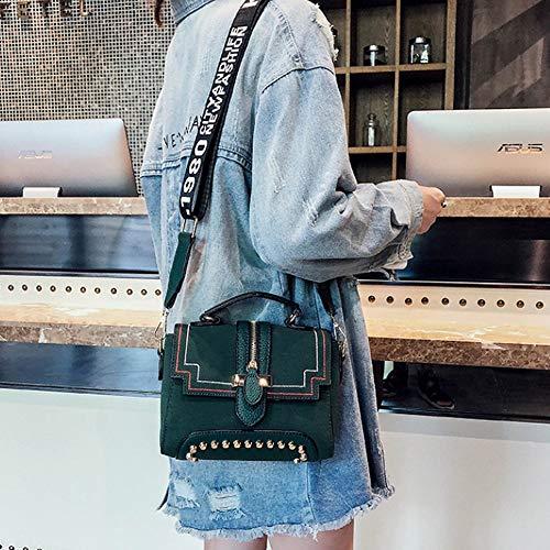21cmx20cmx14cm Bandoulière couleur Pour Main A Miniature C Rétro Teng Peng Sac Messager La Taille Mode À Femme De ORXxaBwqW1