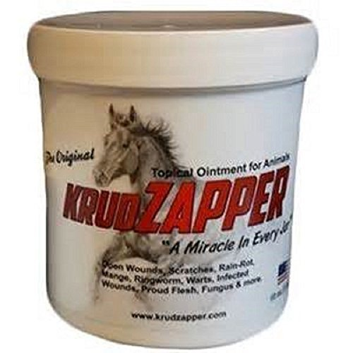 KrudZapper Ointment stops the itching, protect area while healing and keep foreign matter away (including insects). (Best Ointment For Ringworm)