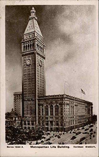 - Metropolitan Life Building New York, New York Original Vintage Postcard