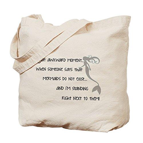 CafePress–una verdadera sirena–Gamuza de bolsa de lona bolsa, bolsa de la compra