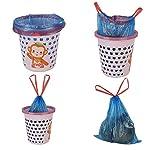 Bringer-Bolsas-para-papeleras-azules-de-30-L-200-bolsas-Bolsas-para-papeleras-con-cordon