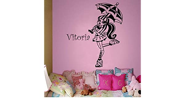 Olivialulu Cliente Mural Monster High-Draculaura Parapluie Ouvert ...