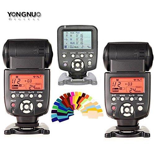 Yongnuo yn560 III 2個フラッシュスピードライトキット+ yn560 TXフラッシュコントローラfor Nikon DSLR Cameras