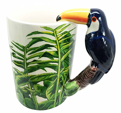 toucan coffee cup - 1