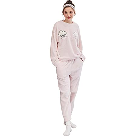 c58b643ce5fb SEX Women S Pajamas Winter Flannel Warm And Cute Warm And Comfortable  Tracksuit