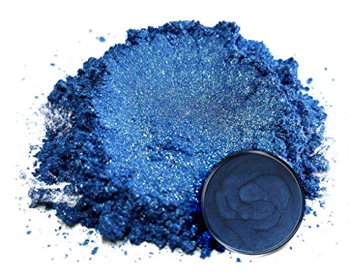 "Eye Candy Mica Powder Pigment ""Blue Blood"" (50g) Multipurpose DIY Arts and Crafts Additive 