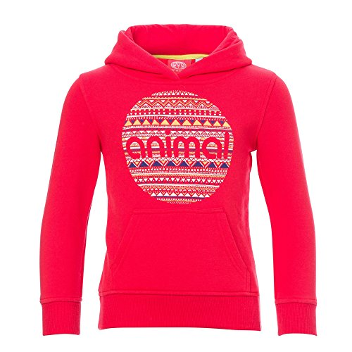 Price comparison product image Animal Childrens Girls Mollie Mai Hoodie (7/8 Years) (Paradise Pink)