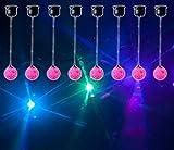8) American DJ ADJ Jelly Globe Rotating Disco Ball Dance Floor LED Effect Lights
