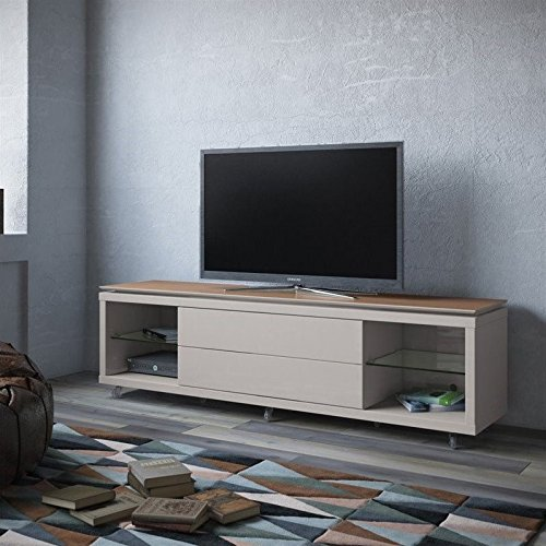 Maple Modern Tv Stand - 9