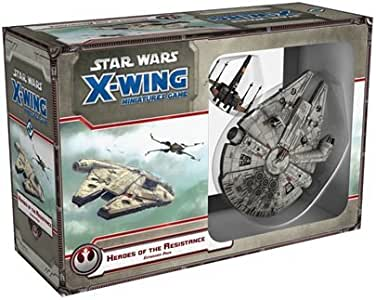 Fantasy Flight Games FFGSWX57 Star Wars X-Wing - Juego de Mesa con Figuras en Miniatura, Paquete de expansión Heroes of The Resistance (no necesariamente en español): Amazon.es: Juguetes y juegos