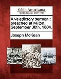 A Valedictory Sermon, Joseph McKean, 127570638X