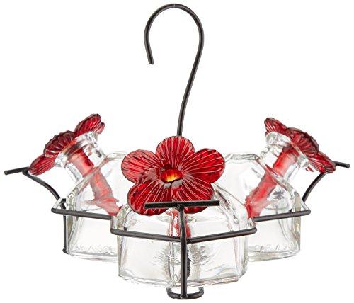 3 Hummingbird Bouquet Feeder - Bouquet 3 Hummingbird Feeder Clear