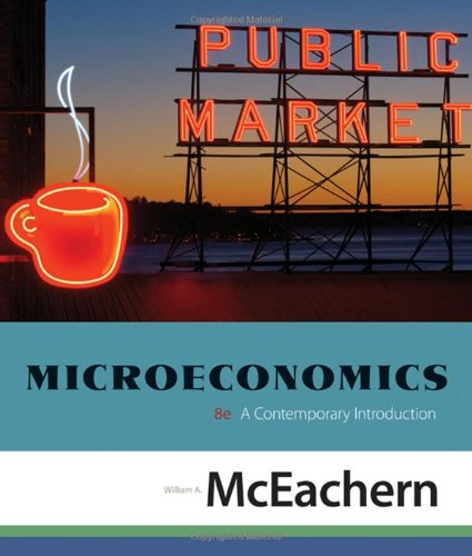 Microeconomics: A Contemporary Introduction (Available Titles Aplia)
