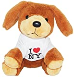 I Love New York Adorable Plush Puppy