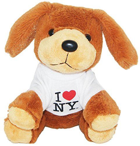 I Love New York Adorable Plush Puppy by CityDreamShop