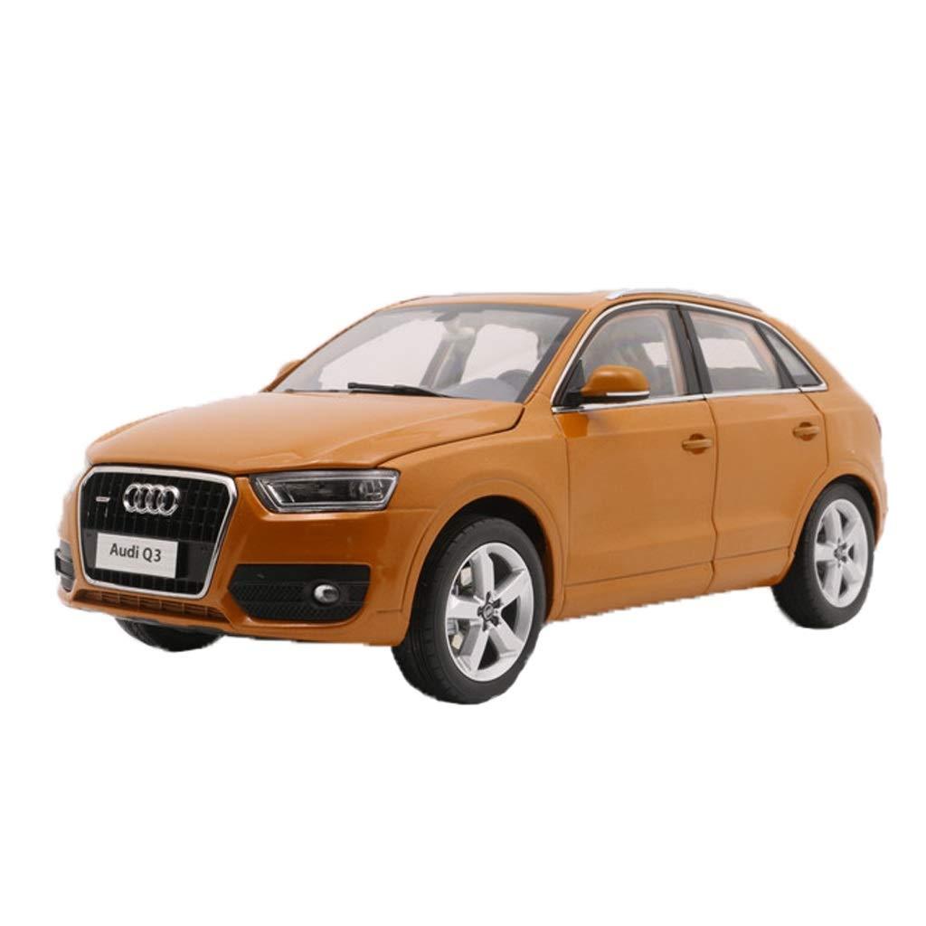 GAOQUN-TOY 1 18 FAW Volkswagen Audi Q3 Simulationslegierungsfahrzeugmodell (Farbe   Orange, größe   24cm11cm7.5cm) B07PV89ZSX Fahrzeuge mit Funktion Berühmter Laden | Komfort