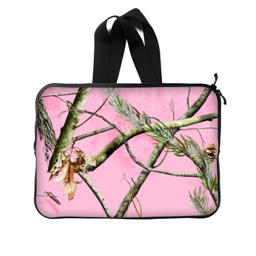 Camouflage Laptop Bag - 15,15.6 Inch Pink Camo tree Noteb...