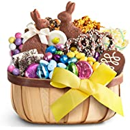 Golden State Fruit Easter Chocolate Bliss Gift Basket
